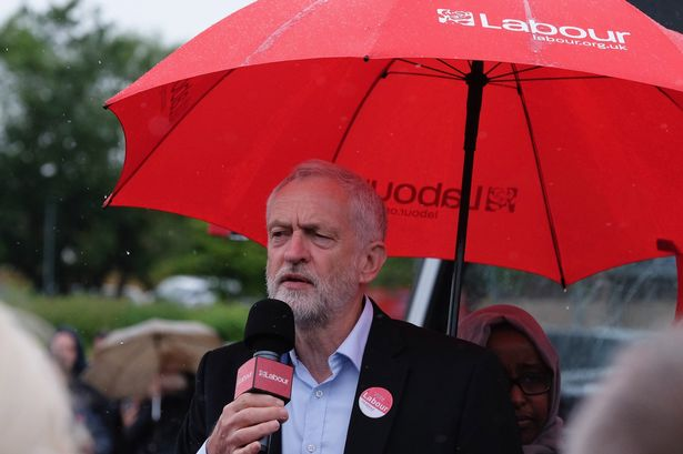 Jeremy-Corbyn-Resumes-Labours-Election-Campaign-With-Visits-In-The-North-East