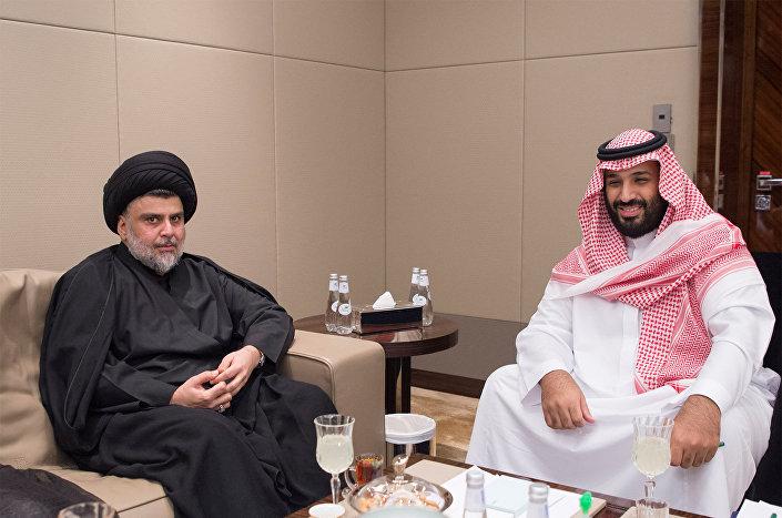 محمد بن سلمان- مقتدی صدر
