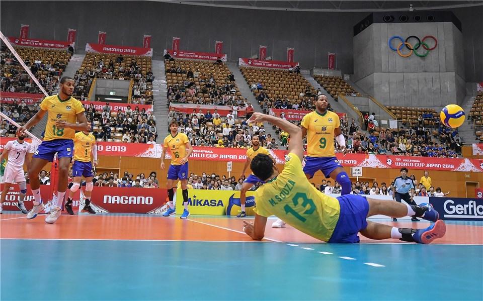 جام جهانی والیبال 2019- ایران و برزیل
