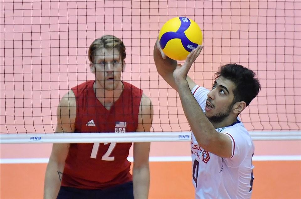 جام جهانی والیبال 2019- ایران و آمریکا