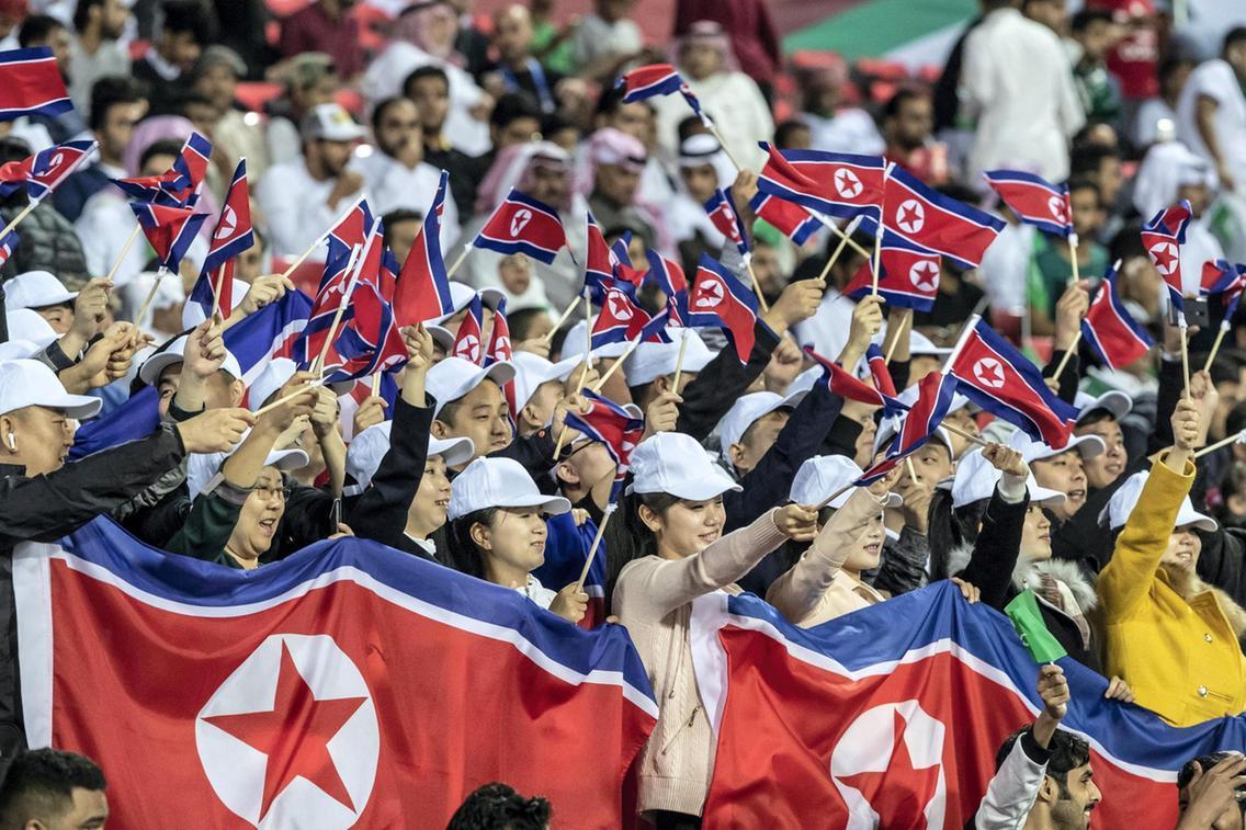جام ملت های آسیا - عربستان و کره شمالی