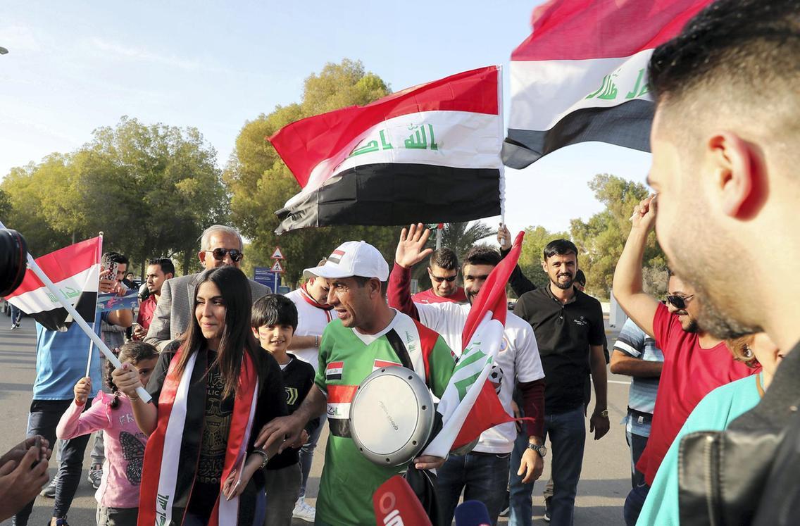 جام ملت های آسیا - عراق و ویتنام