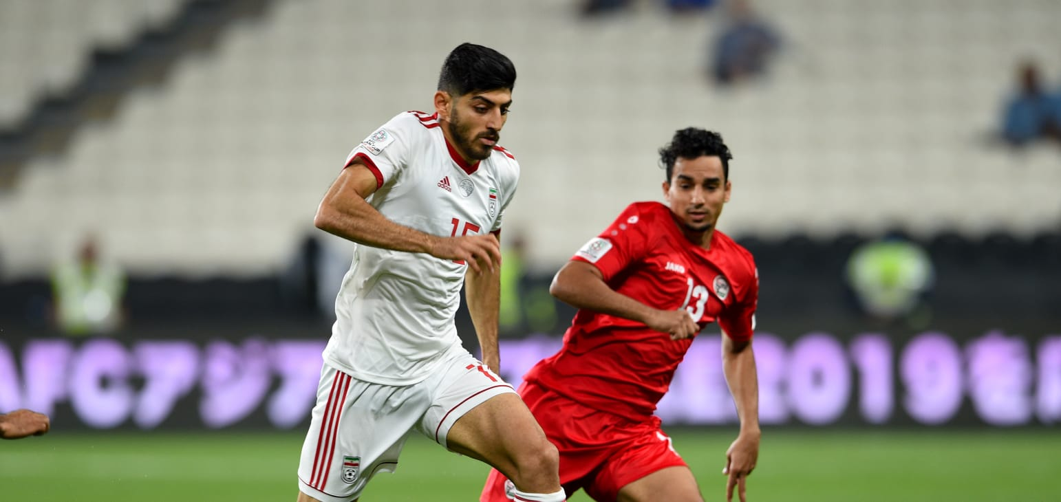 جام ملت های آسیا - ایران و یمن