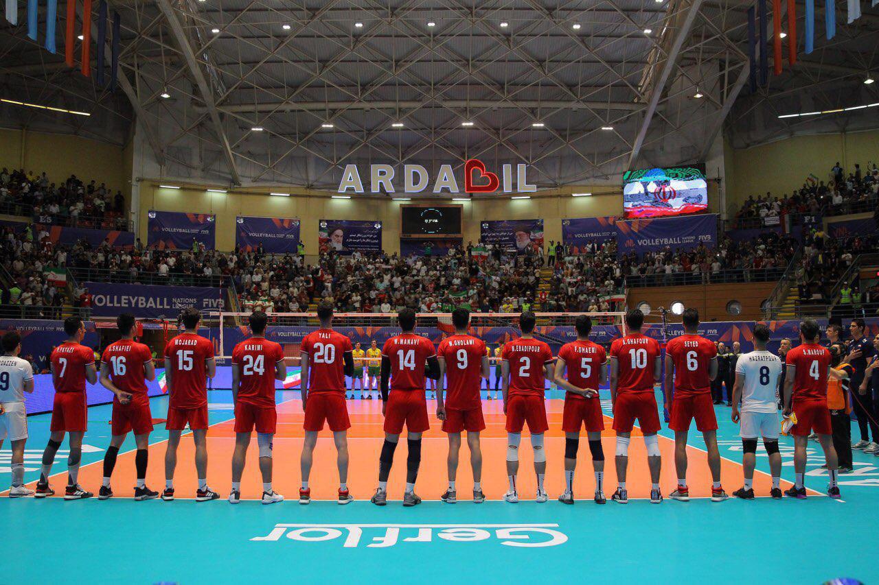 لیگ ملت های والیبال تیم ملی والیبال ایران تیم ملی والیبال استرالیا