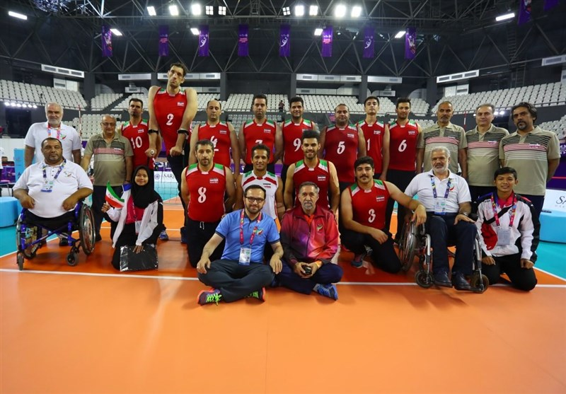 تیم ملی والیبال نشسته