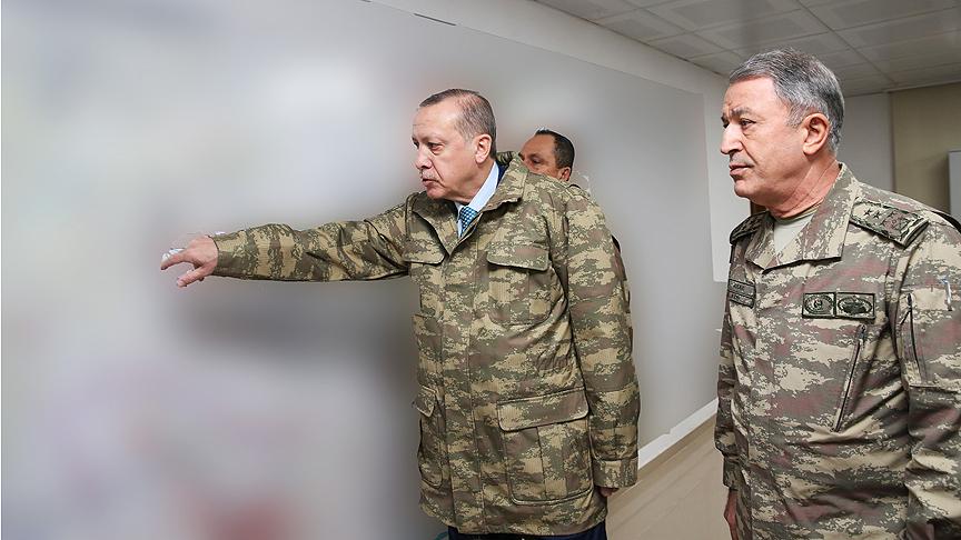 رجب طیب اردوغان.لباس نظامی