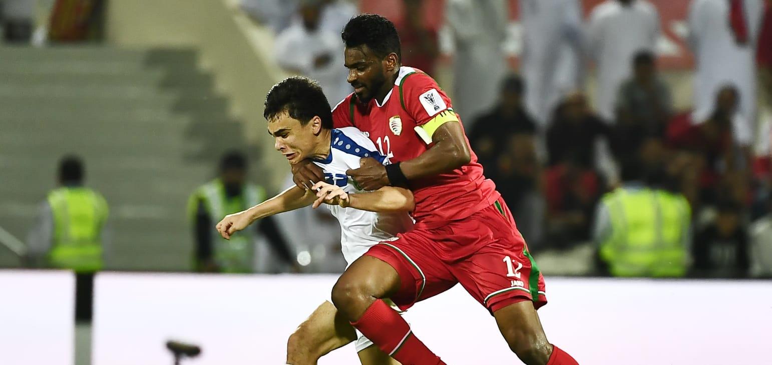 جام ملت های آسیا - ازبکستان و عمان