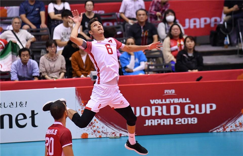 جام جهانی والیبال 2019- ایران و تونس