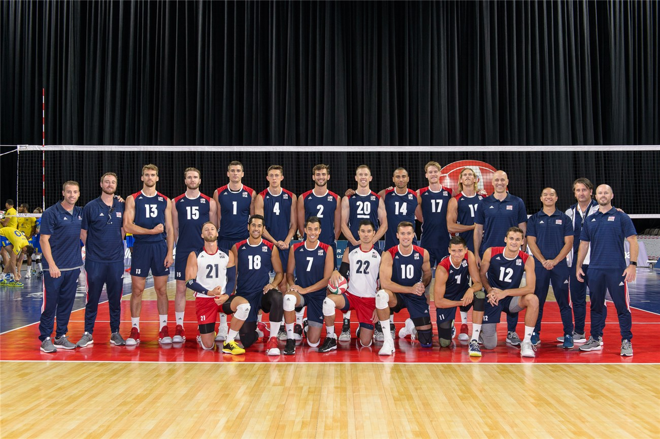والیبال -  لیگ ملت های والیبال 2019