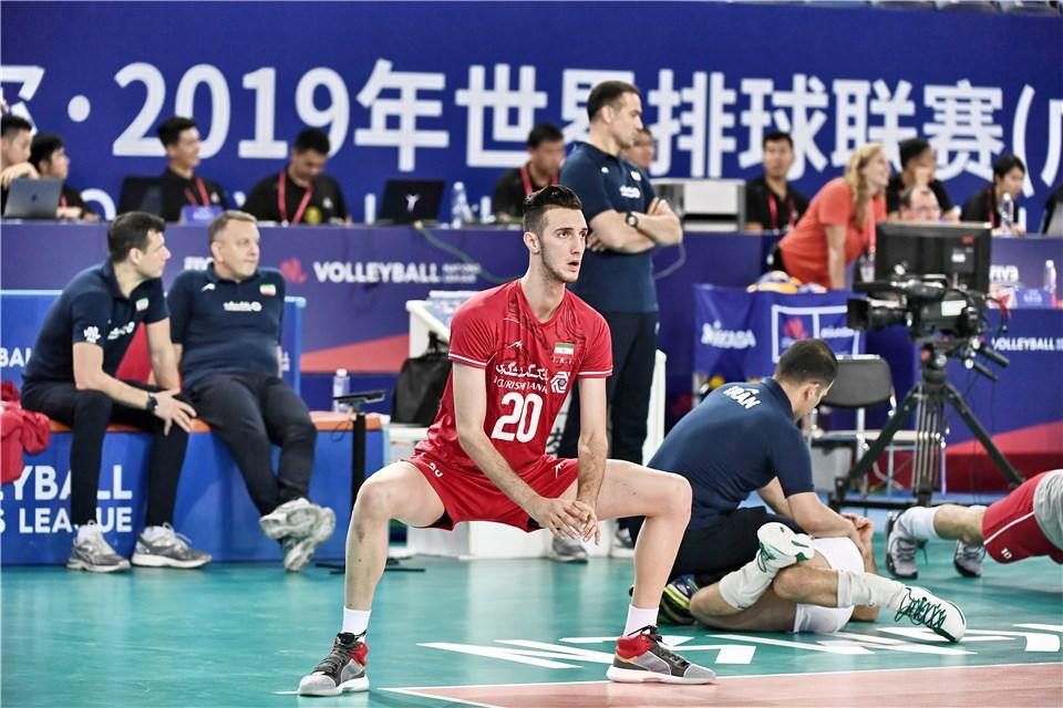 لیگ ملت های والیبال 2019 - تیم ملی والیبال ایران - تیم ملی والیبال چین