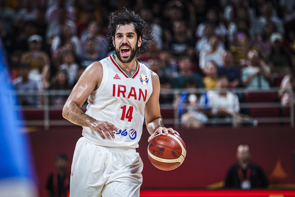 جام جهانی بسکتبال 2019 - ایران - فیلیپین