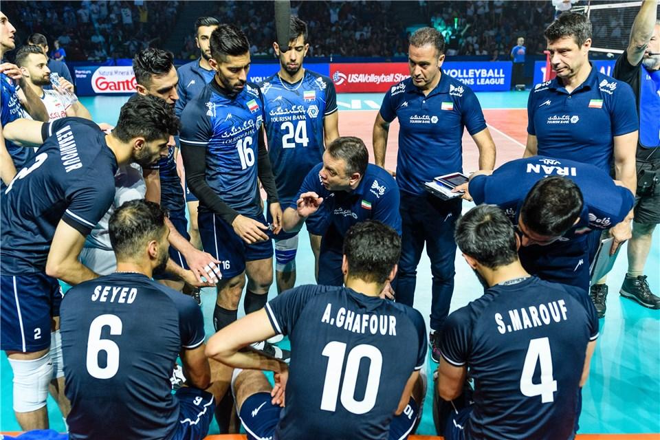 لیگ ملت های والیبال 2019 - کولاکوویچ - تیم ملی والیبال ایران - تیم ملی والیبال برزیل