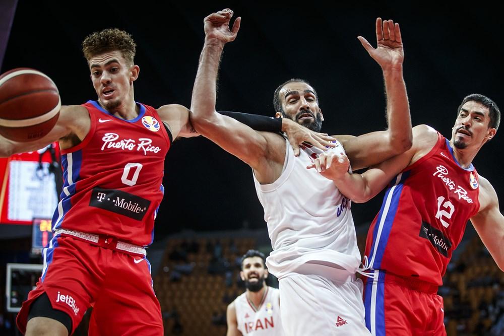 جام جهانی بسکتبال 2019 - ایران - پورتوریکو