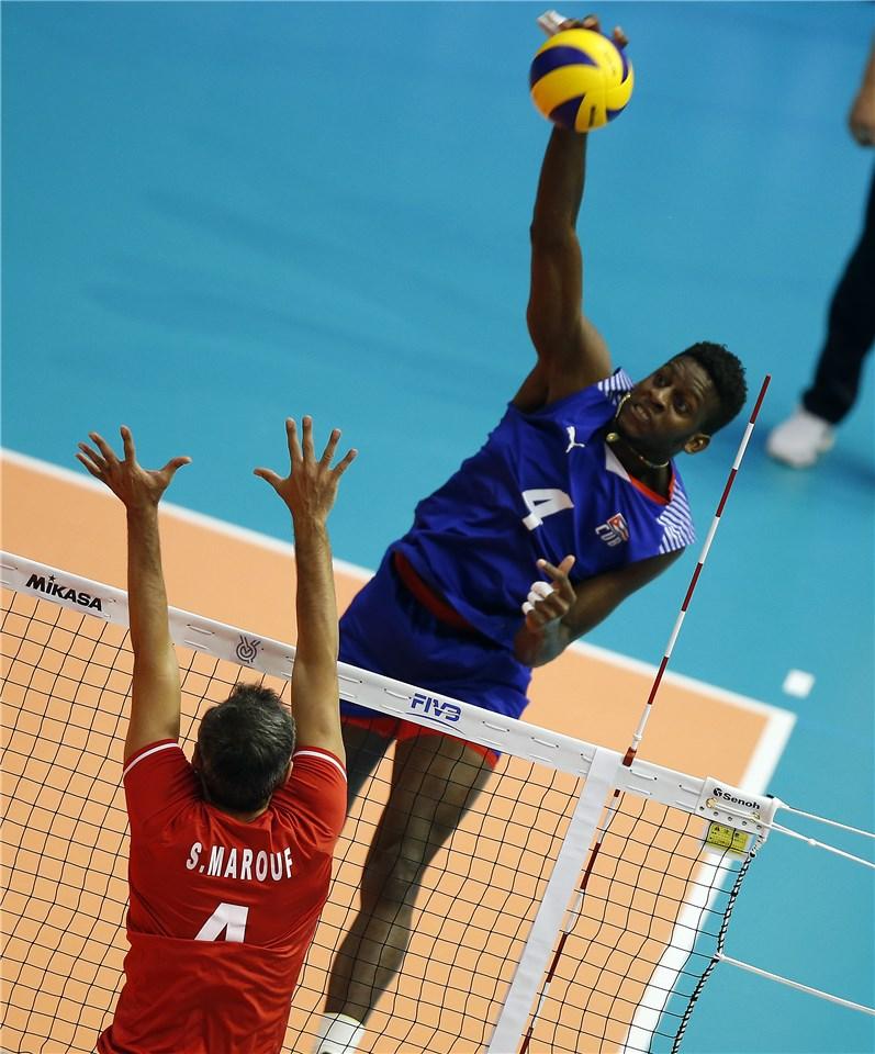 والیبال انتخابی المپیک - تیم ملی والیبال ایران - تیم ملی والیبال کوبا