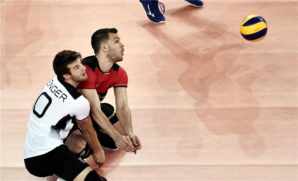 لیگ ملت های والیبال 2019 - تیم ملی والیبال ایران - تیم ملی والیبال آلمان