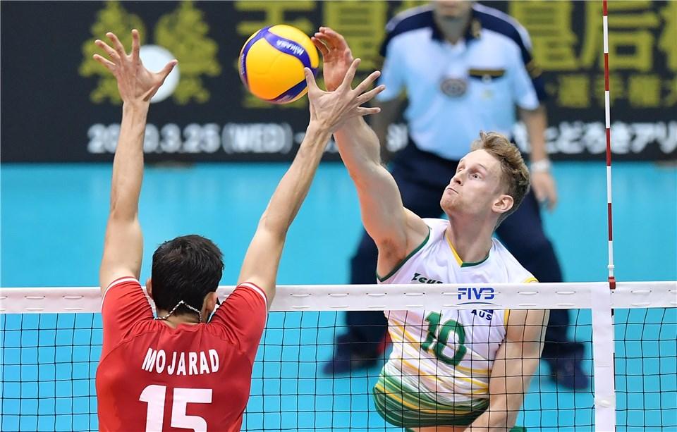 والیبال قهرمانی آسیا 2019 - ایران و استرالیا