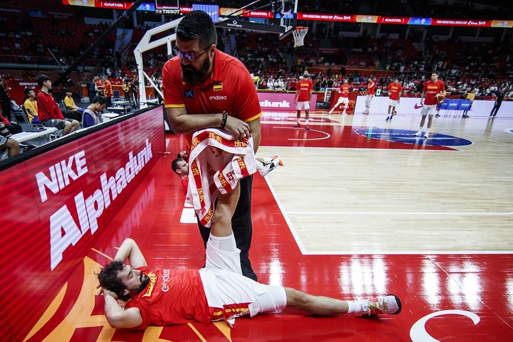 جام جهانی بسکتبال - ایران- اسپانیا
