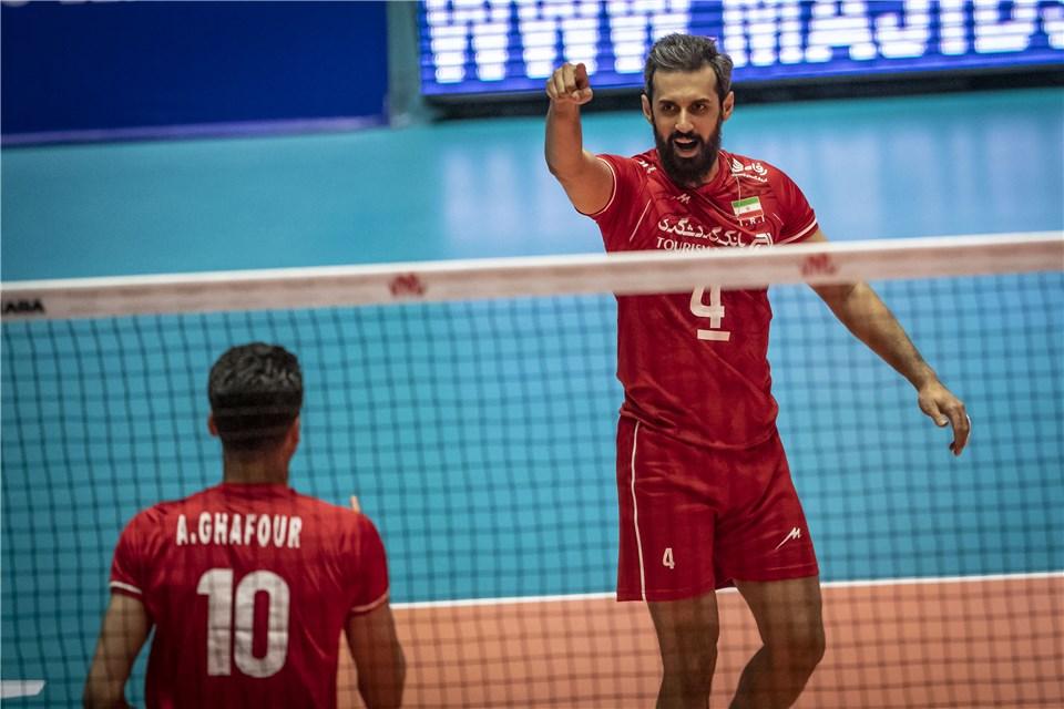 لیگ ملت های والیبال 2019 - تیم ملی والیبال ایران - تیم ملی والیبال استرالیا