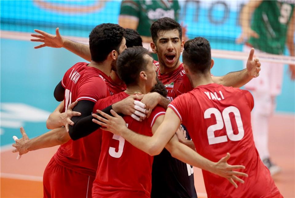 لیگ ملت های والیبال 2019 - تیم ملی والیبال ایران - تیم ملی والیبال بلغارستان
