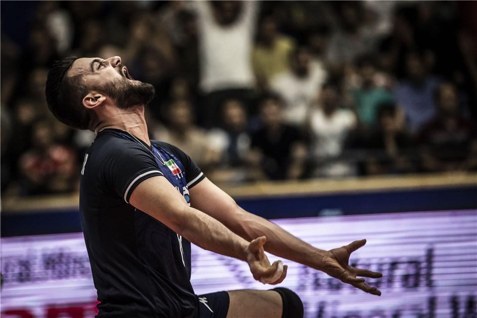حضرت پور - لیگ ملت های والیبال 2019 - تیم ملی والیبال ایران - تیم ملی والیبال روسیه