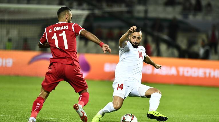جام ملت های آسیا -  فلسطین و سوریه