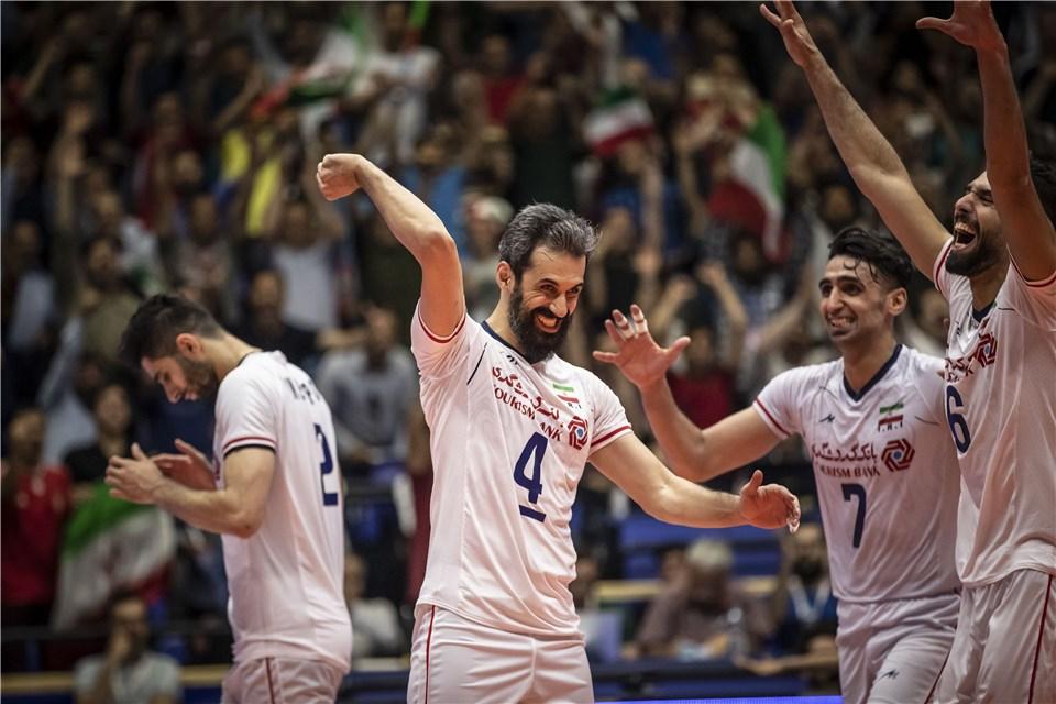 لیگ ملت های والیبال 2019 - تیم ملی والیبال ایران - تیم ملی والیبال روسیه