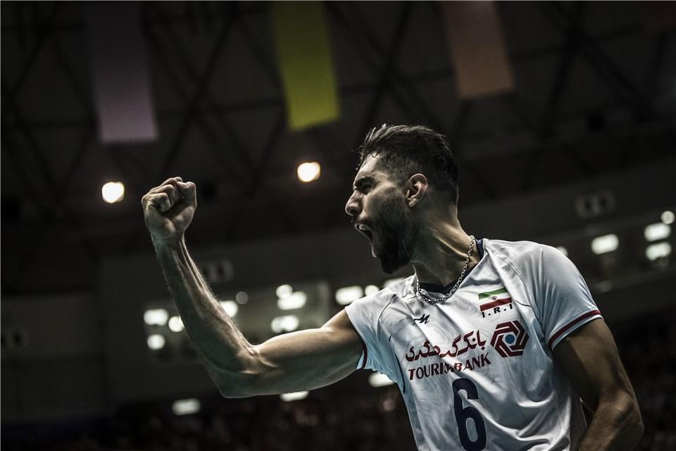 محمد موسوی - لیگ ملت های والیبال 2019 - تیم ملی والیبال ایران - تیم ملی والیبال روسیه