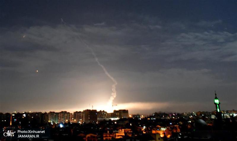دفاع موشکی سوریه