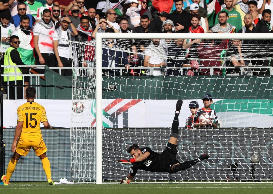 جام ملت های آسیا - استرالیا و فلسطین