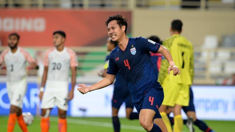 جام ملت های آسیا - هند و تایلند