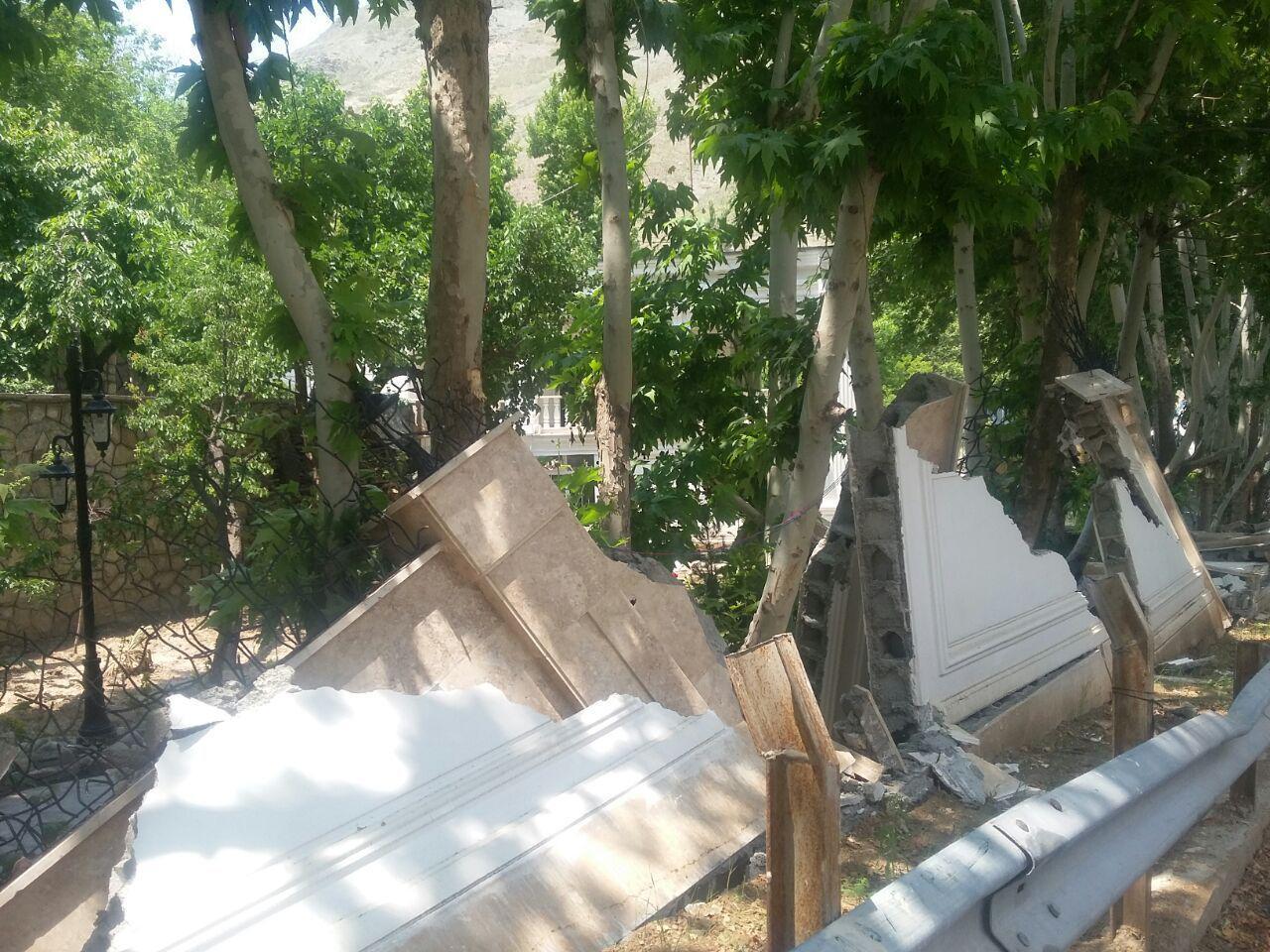قوانین ساخت و ساز غیر مجاز ساخت و سازهای غیرمجاز تخریب ویلا غیرمجاز اخبار کرج