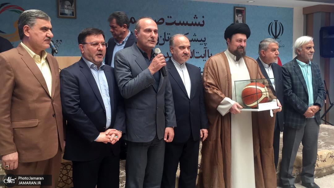 گزارش جی پلاس؛ مدالها و کاپهای اهدایی به سیدحسن خمینی و موزه ورزش+ تصاویر و ویدیو