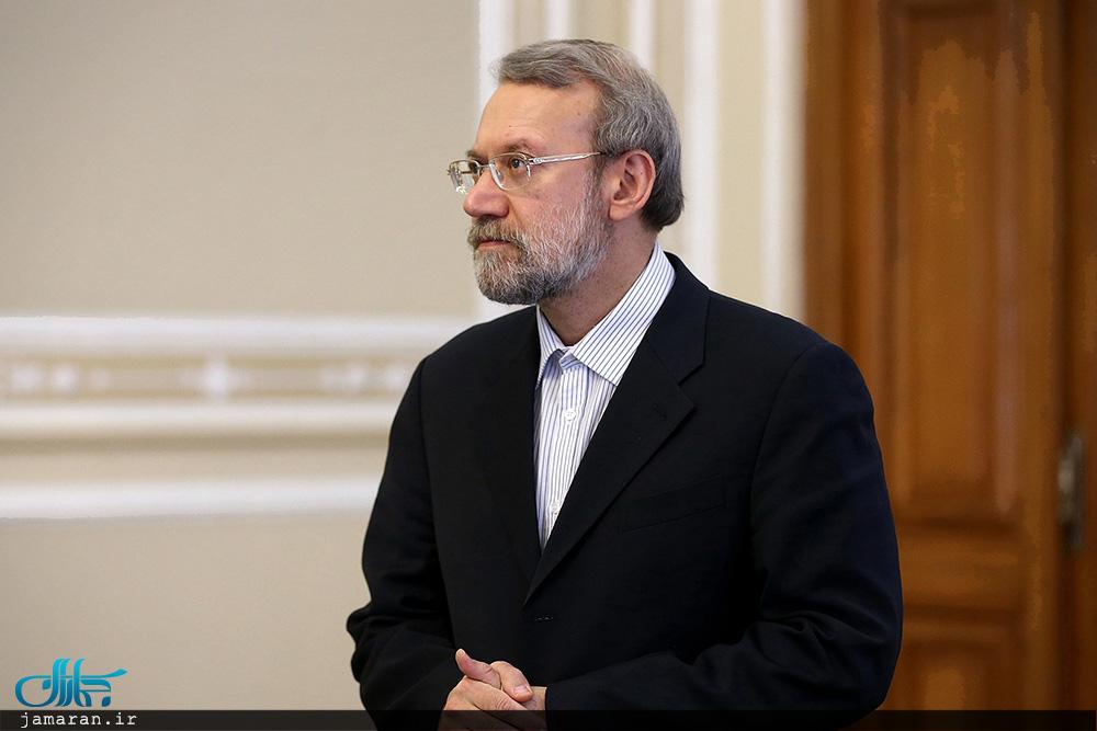 لاریجانی: وعده رئیسجمهور فرانسه به رئیسجمهور ایران برای حفظ برجام محقق نشد