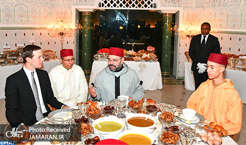 King-Mohammed-VI-Hosts-Iftar-in-Honor-of-Jared-Kushner-in-his-private-residence-in-Sale