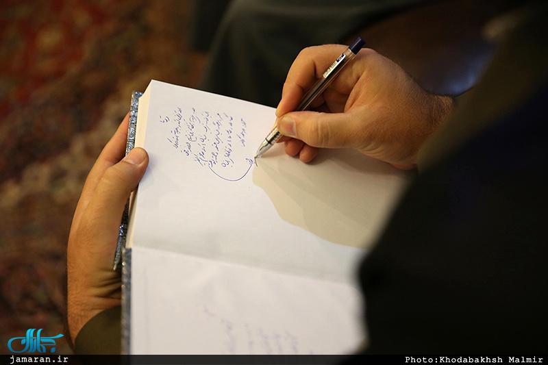 دیدار سید حسن خمینی با عزت الله انتظامی