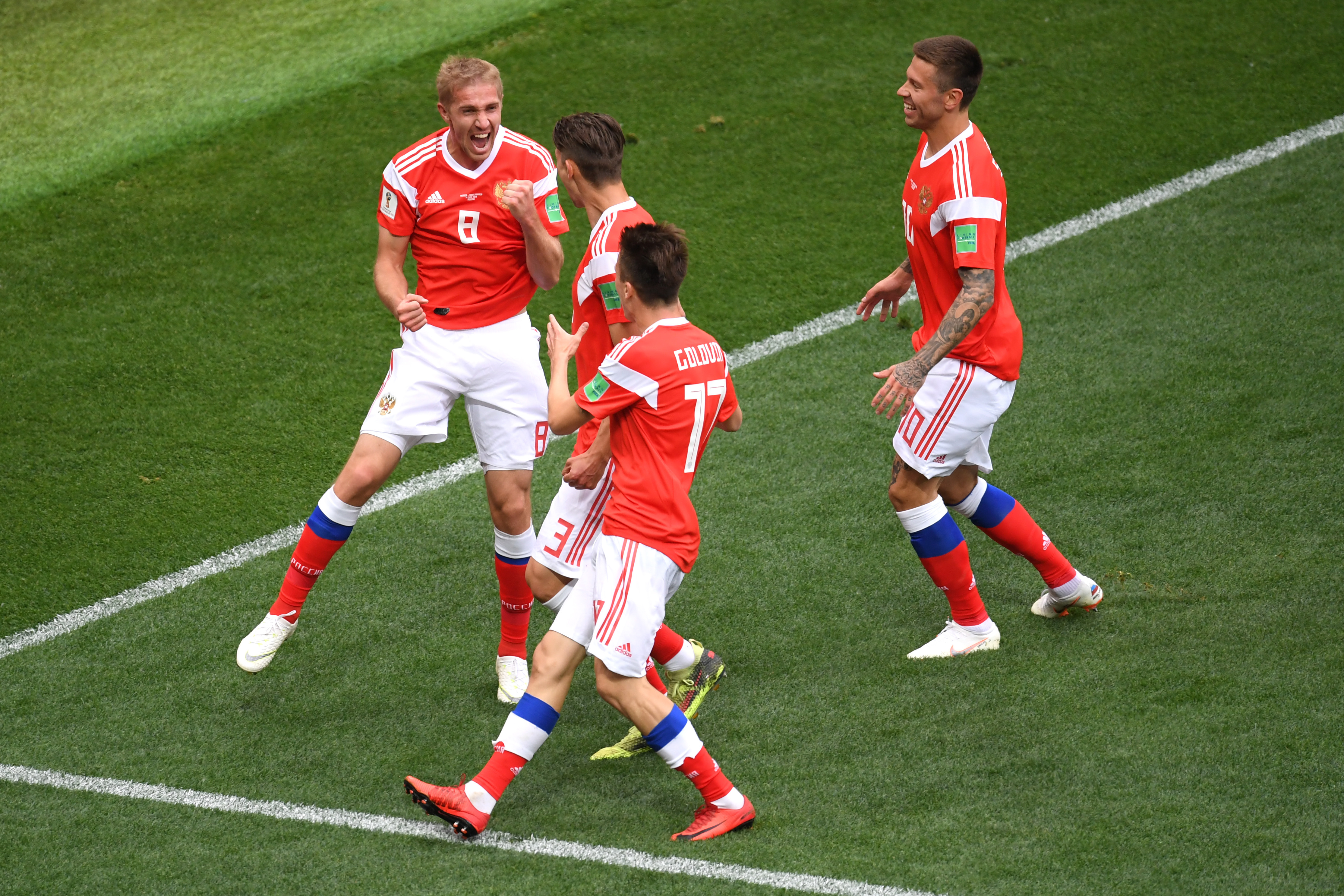 جام جهانی - روسیه و عربستان