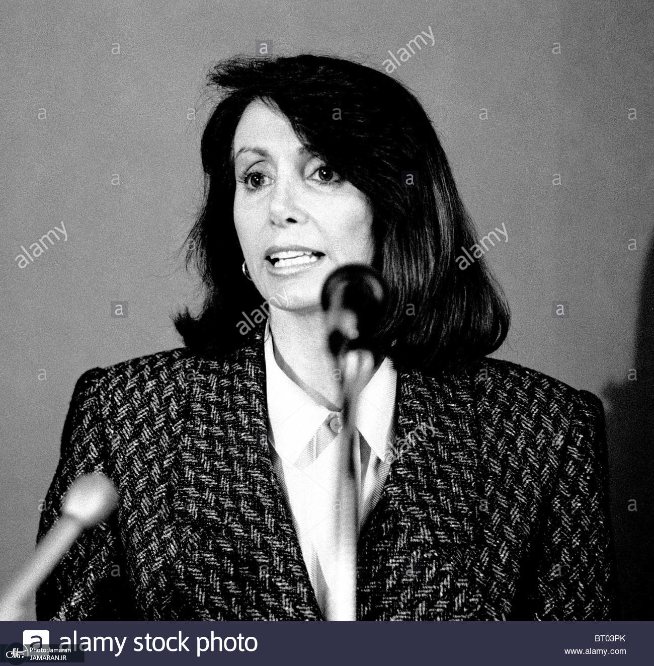 nancy-pelosi-announces-she-is-a-democratic-party-candidate-for-a-seat-BT03PK