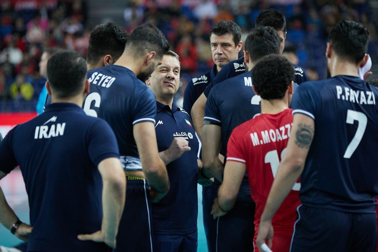 والیبال انتخابی المپیک - تیم ملی والیبال ایران - تیم ملی والیبال چین