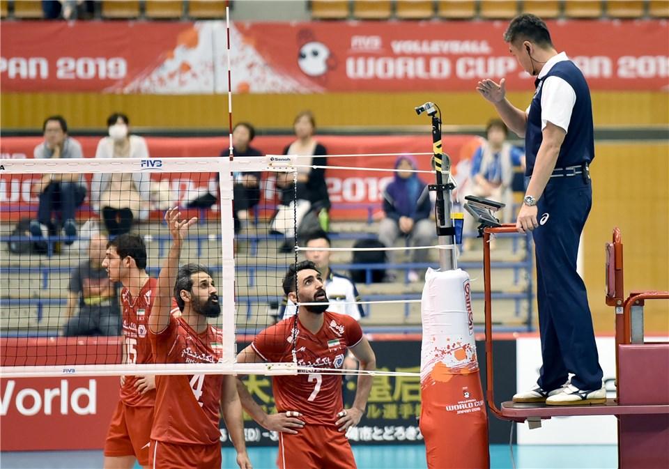 جام جهانی والیبال 2019- ایران و مصر