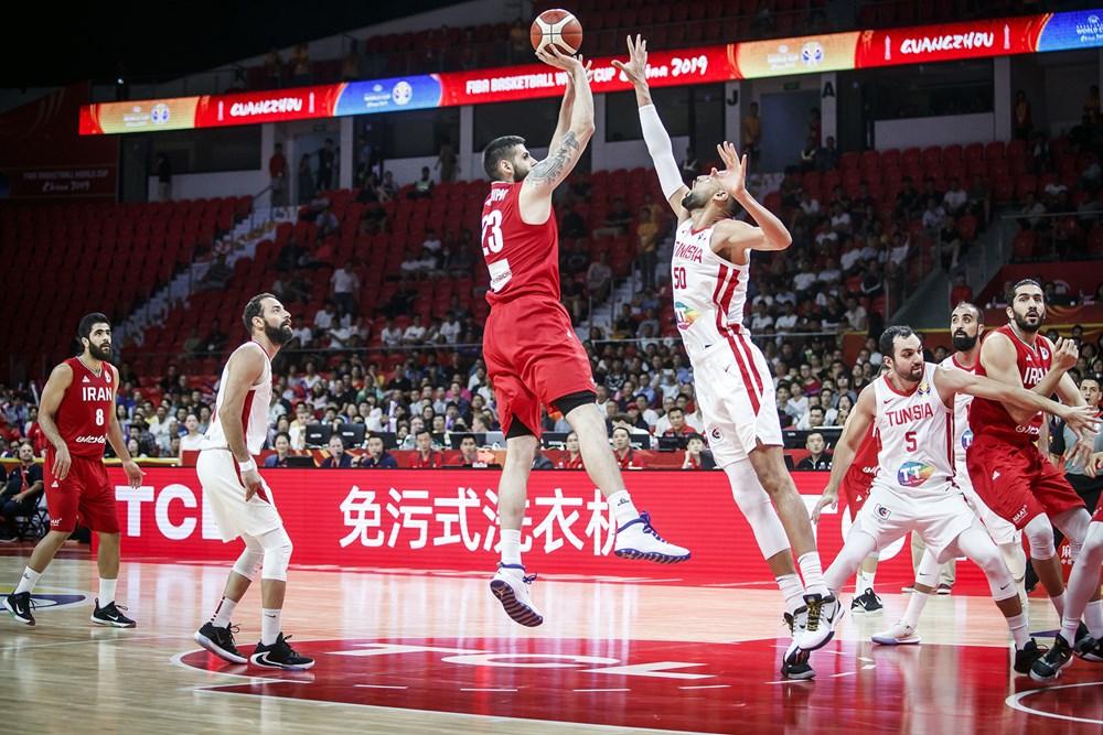 جام جهانی بسکتبال 2019 - ایران - تونس