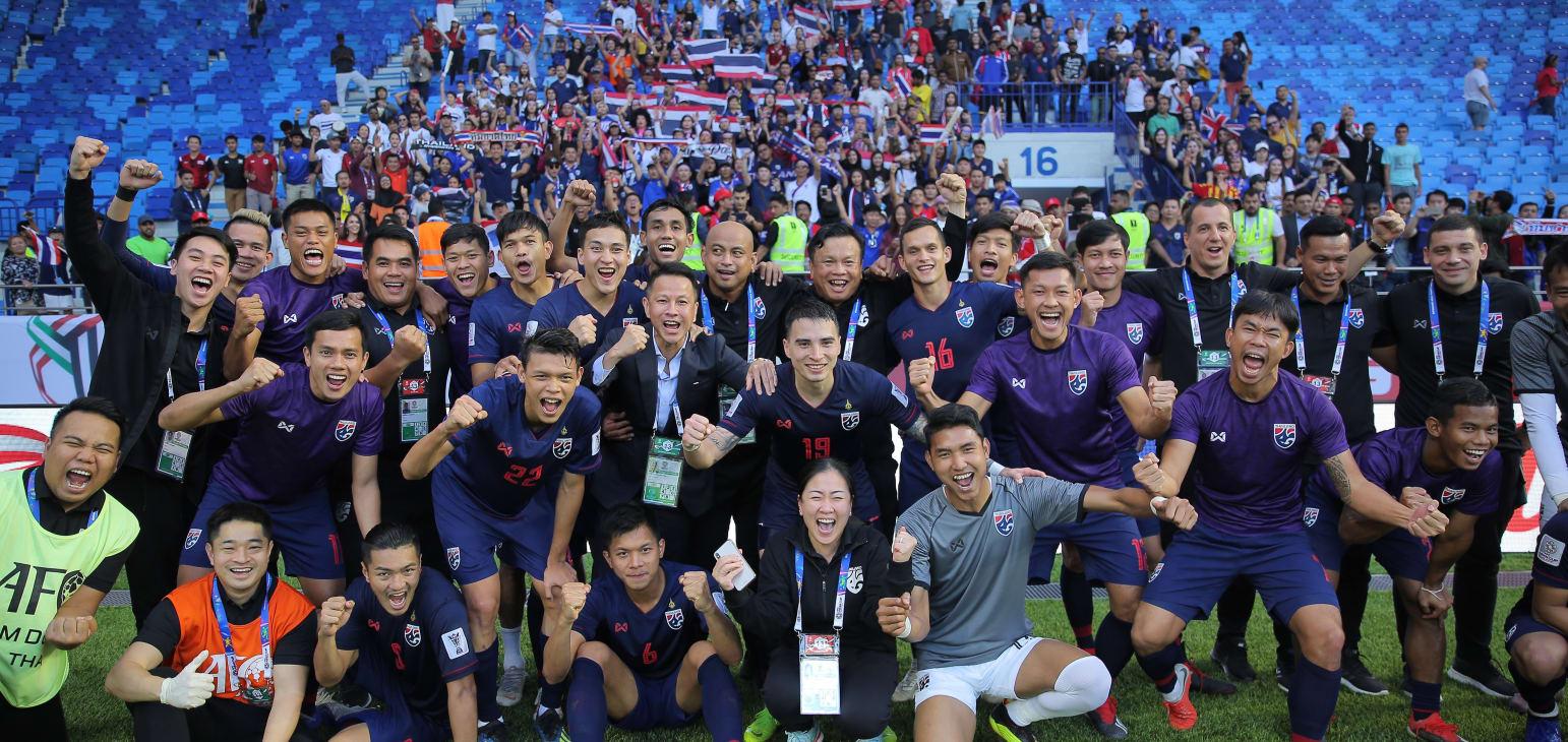 جام ملت های آسیا - اردن و تایلند