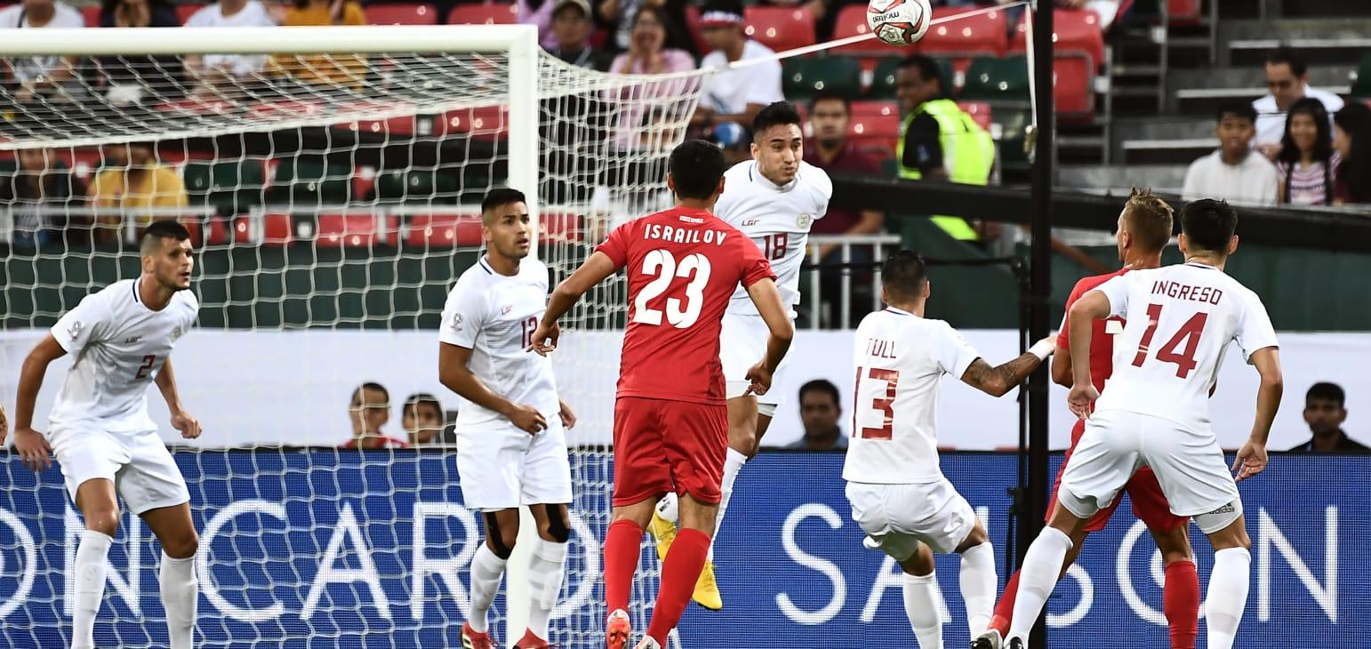 جام ملت های آسیا - قرقیزستان و فیلیپین