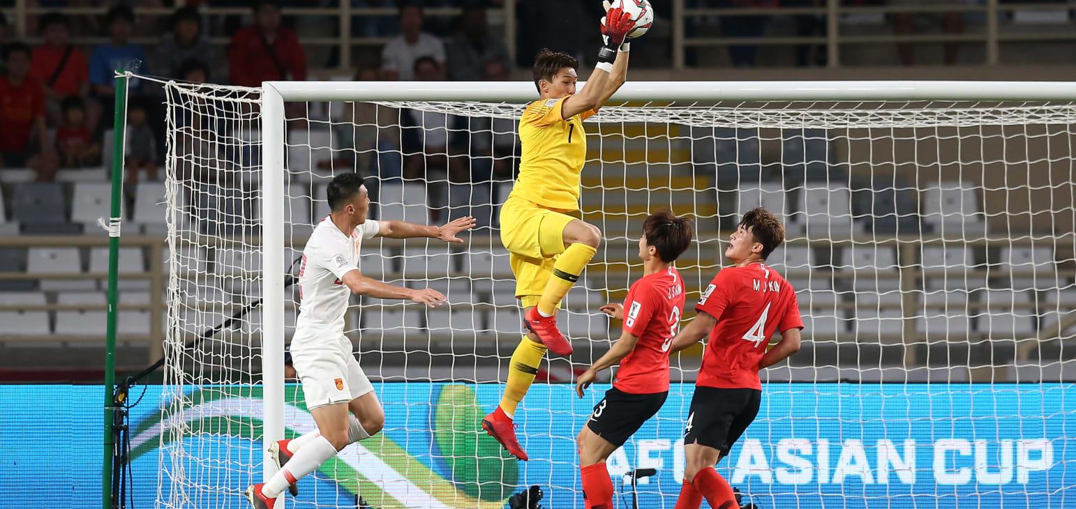 جام ملت های آسیا - کره جنوبی و چین