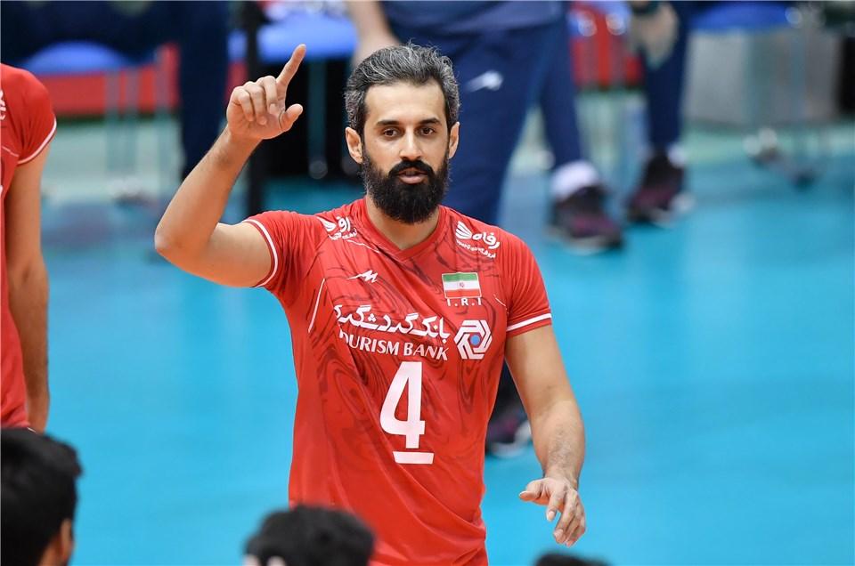 جام جهانی والیبال 2019- ایران و مصر - سعید معروف