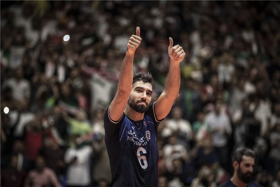 محمد موسوی - لیگ ملت های والیبال 2019 - تیم ملی والیبال ایران - تیم ملی والیبال لهستان