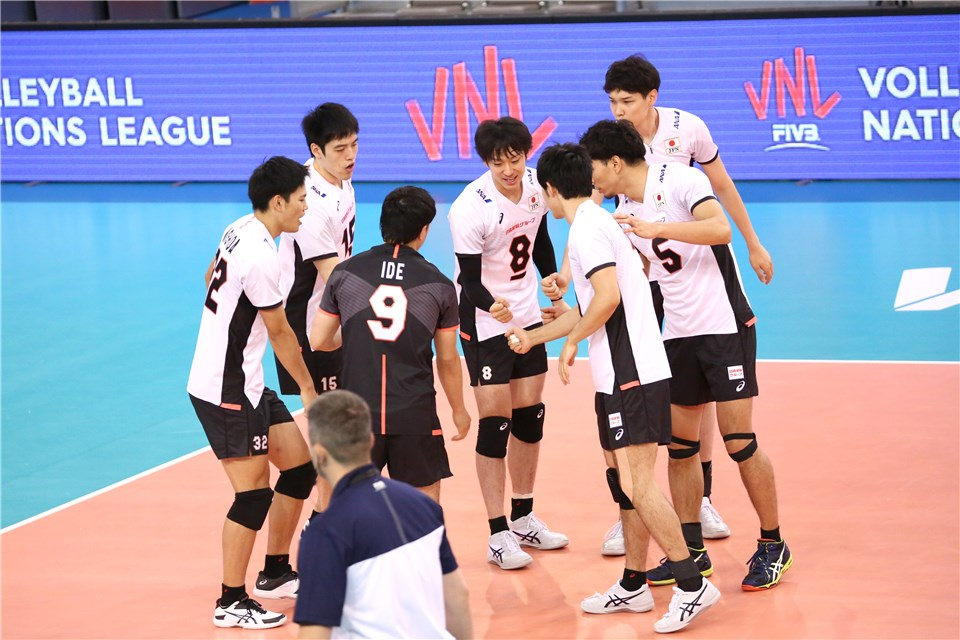 تیم ملی والیبال ایران- ژاپن