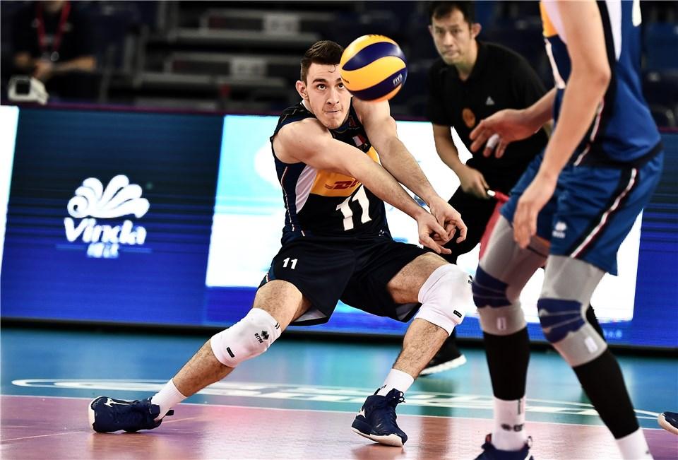 لیگ ملت های والیبال 2019 - تیم ملی والیبال ایران - تیم ملی والیبال ایتالیا