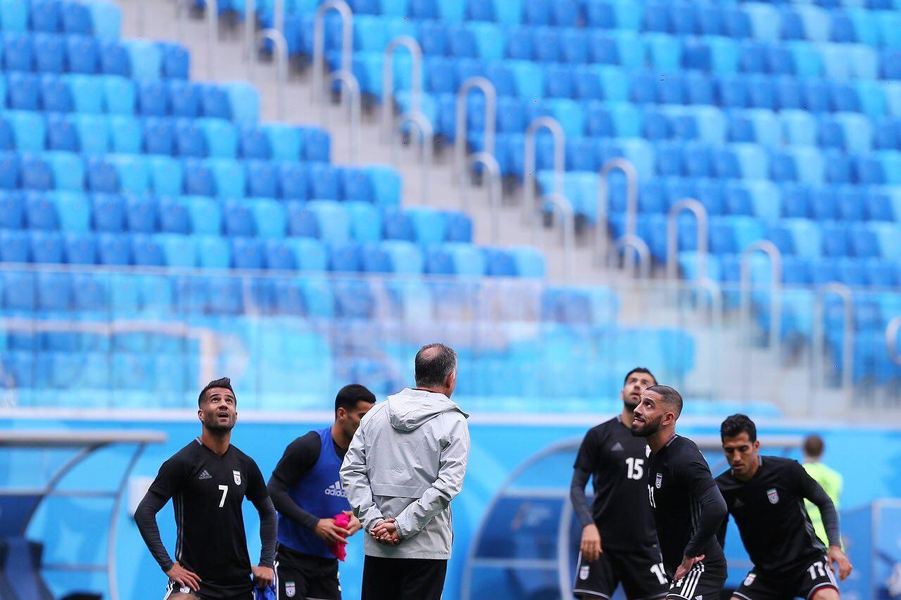 تمرین تیم ملی