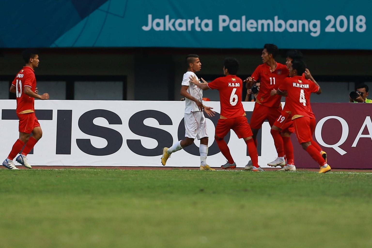 تیم ملی فوتبال امید ایران در بازی های آسیایی
