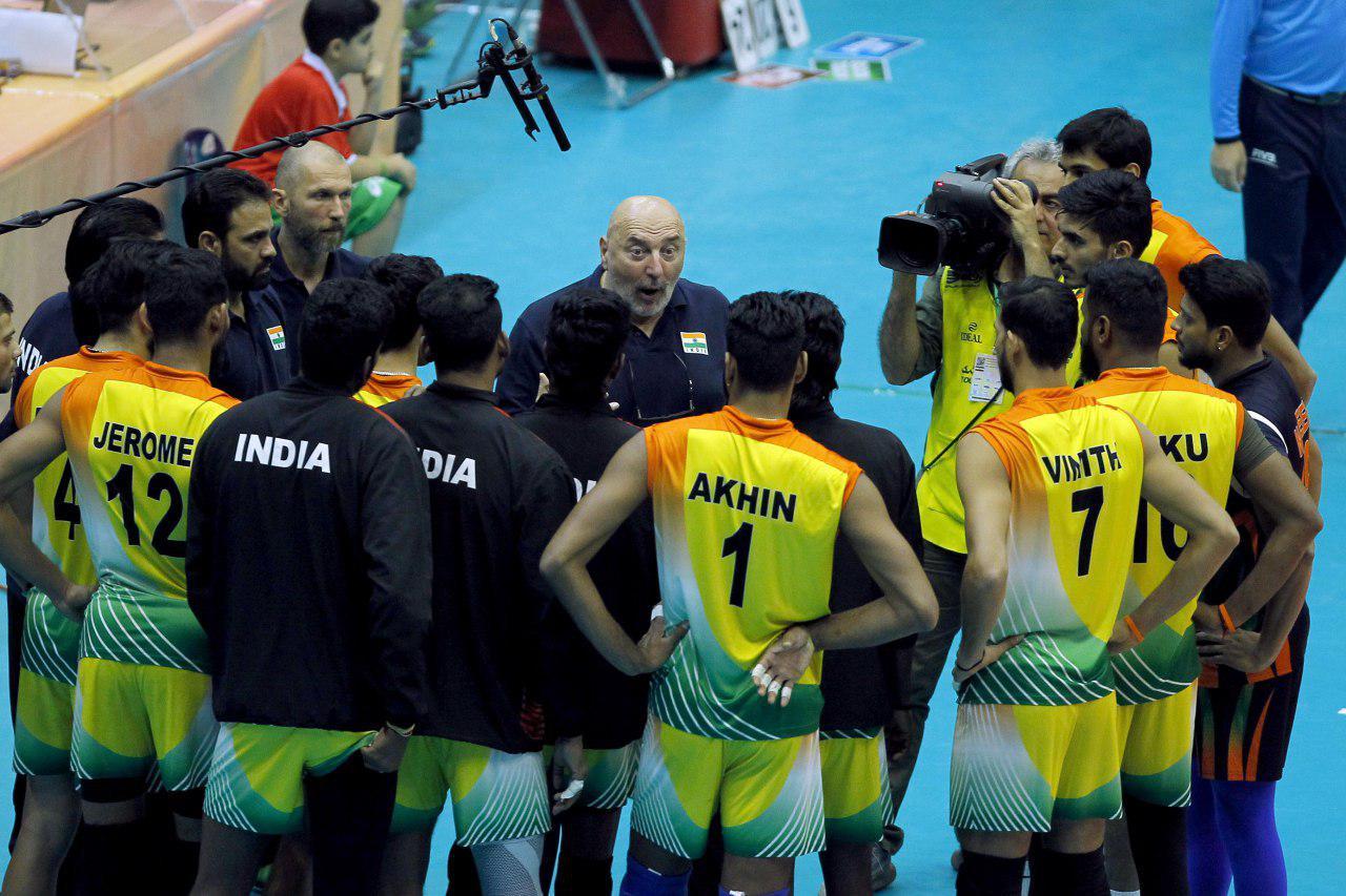 والیبال قهرمانی آسیا 2019 - ایران و هند